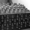 Enigma machine with plug board