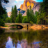 Yosemite Half Dome Reflection