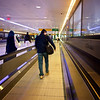 Moving Sidewalk, JFK Airport - Queens, New York