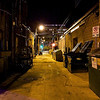 Alleyway behind 6th Street - Austin, Texas