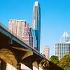 Skyline Rises over the Congress Avenue Bridge - Austin, Texas