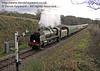 1638 approaches Caseford Bridge with a Santa Special.  20.12.2014  11843