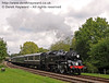 80151 leaves Kingscote with a service train.  04.09.2010  4498