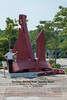 Anchor from the largest vessel ever built - the 'Seawise Giant' Government Dockyard, Hong Kong (2012-10-05)