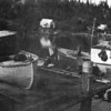 <h3>By 1953 when this photo was taken the McInnes fishing fleet in Devil's Channel was down to 12 boats from a peak of 22 in 1950 (and 1946) and stayed small until McInnes closed its Great Slave Lake operation at the end of the 1960 season</h3>