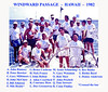 The crew of WINDWARD PASSAGE at the 1982 Clipper Cup, updated 2/14