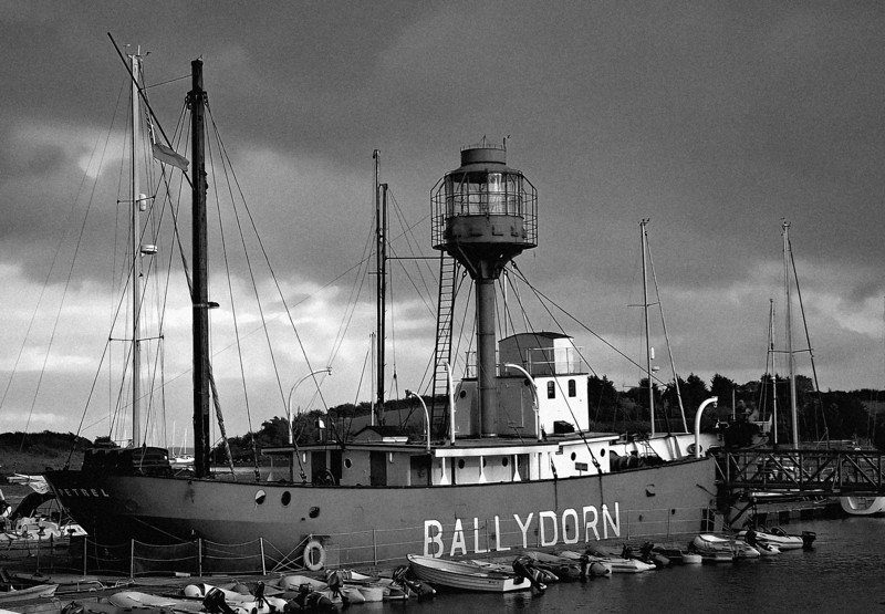 Lightship Petrel,<br /> Ballydorn Bay<br /> County Down