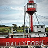 Lightship Petrel,<br /> Ballydorn Bay<br /> County Down<br /> 28th July 2014