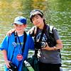 Will Schimmelman and Sterling Yun: budding Seafair Photogs