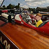 Will sitting in Miss Wahoo, now hooked on Seafair
