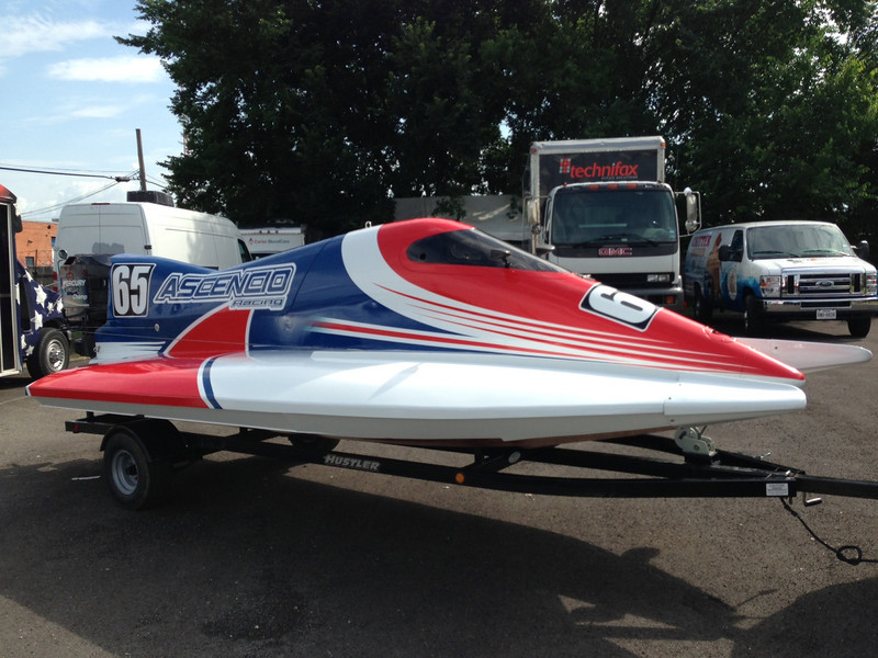 Ascencio Racing, Race Boat, Dallas, TX