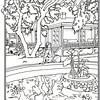 P. 8 Art Modjeska Canyon House Orange County's Colorful Past Coloring Book Commissioned by the Orange County Archives By Laura Hoffman  Used by permission from the Orange County Archives