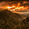 Fire in the Sky - Sunset Storm Clouds Morton Overlook