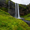 Selialandfoss - Beautiful water fall you can walk behind.