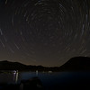 Star Trails over Middle Gaylor Lake