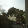 Edinburgh Castle, Edinburgh, as seen from Apex City Hotel