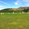A broader view of Castlerigg Stone Circle, near Keswick, Cumbria