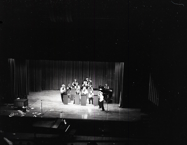 Show Band performing on stage