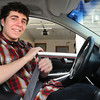 BRYAN EATON/ Staff Photo. Amesbury's Jake Martin is a finalist in the Toyota Safe Driver Challenge scholarship contest.