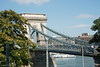 Chain Bridge crossing the Danube