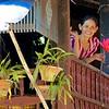 Woman On The Balcony<br /> <br /> Bilu Kyun (Ogre Island), Burma<br /> 23 December 2013