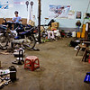 Motorcycle Repair Shop<br /> <br /> Nyaung Shwe, Burma<br /> 2 November 2012