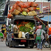 Truck Bringing Produce To Sell<br /> Downtown Market<br /> <br /> Nyaung Shwe, Burma<br /> 3 November 2012