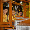 Team 1: Weavers<br /> Mahoe Robe Weaving Competition<br /> Shwedagon Pagoda<br /> <br /> Yangon, Burma<br /> 27 November 2012