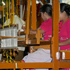 Team 9: Weavers<br /> Mahoe Robe Weaving Competition<br /> Shwedagon Pagoda<br /> <br /> Yangon, Burma<br /> 27 November 2012