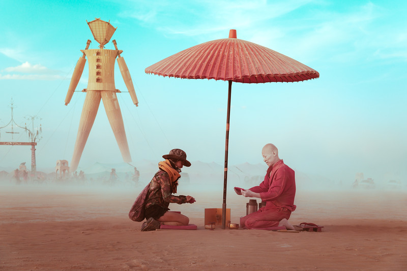 Dust Storm Tea  |  Burning Man