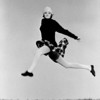 Leaping, Plaid Skirt