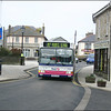 First Devon & Cornwall Dart 42874 (SN53KKD) is seen working a service 17A as it enters St Just and heads for the bus station - 24 January 2006.