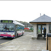 First Devon & Cornwall Dart 42874 (SN53KKD) stands in St. Just Bus Station prior to working a service 17 journey back to St. Ives  - 24 January 2006.