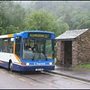 Stagecoach North West Dart 33165 (T603JBA) stands at a wet Glenridding prior to returning on service 517 to Windermere & Bowness via the Kirkstone Pass - 22 June 2008.