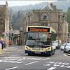 Hulleys of Baslow Alexander Dennis Dart 5 (PL06TGE) on service 170 arriving at Bakewell, the blind already changed for its return journey - 25 April 2010.