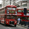 Metroline Routemaster RML2755 (SMK755F) in Oxford Street on route 390 to Archway Station - 24 May 2004.