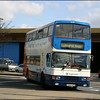 Stagecoach Southdown Volvo Olympian 16282 (P282VPN) enters Chichester Bus Station on service 60 from Midhurst to Bognor Regis - 9 March 2004.