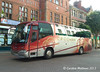 C & G Coaches Irizar bodied Scania CG04CNG parked outside the Crown & Mitre Hotel on 29th July. Another mobile photo.