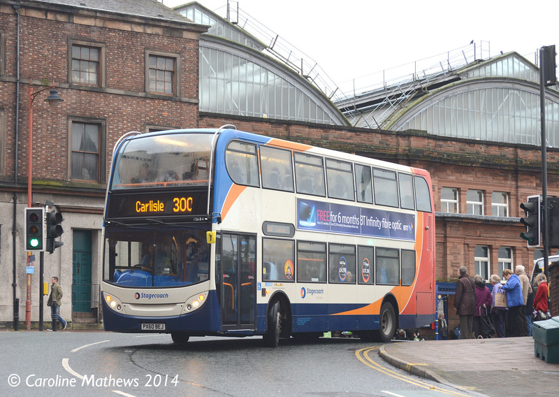 Stagecoach 15684 (PX60BEJ), Carlisle, 7th November 2014