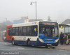 Stagecoach 24117, West Tower Street, Carlisle, 4th November 2014