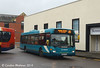Arriva North East 4664 (NK07FZG), Carlisle Bus Station, 7th November 2014