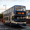 Stagecoach 18380 (MX55KRO), West Tower Street, Carlisle, 15th December 2014