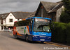 Also approaching Keswick Bus Station on 31st August 2013 is Stagecoach 53336 (PX59CVB), a Plaxton bodied Volvo B7R