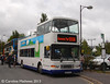 Reays Alexander bodied Volvo Olympian R650HYG at Keswick Bus Station on 31st August 2013.