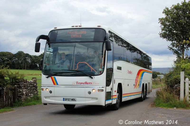 Travellers Choice SF07WBL, Warcop Station, 18th August 2014
