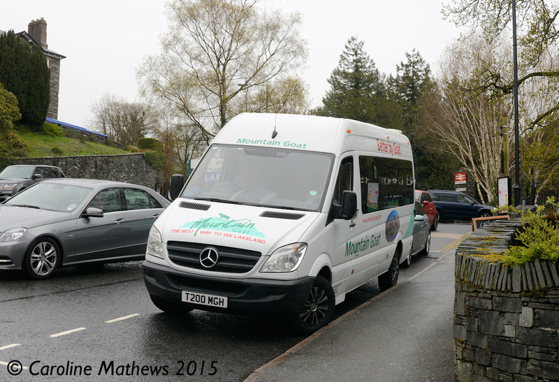 Mountain Goat T200MGH, Windermere, 25th April 2015