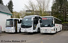 Olympia YN53EJD, Parks SN15KMV & Starline WCZ9955, Bowness, 25th April 2015