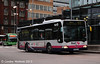 And similar bus 60280 (W358RJA) was also seen in Shude Hill Bus Station on 7th December.