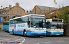 Tyne Valley Plaxton bodied VOlvo B10M-62 M700TMS parked at the rear of the Bus Station alongside Arriva 1791.