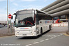 Parks of Hamilton Plaxton bodied Volvo B12B KSK948 leaving Preston Bus Station on 3rd May
